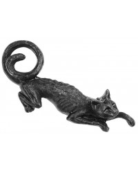 Cat Sith Hair Slide Barrette Mystic Convergence Metaphysical Supplies Metaphysical Supplies, Pagan Jewelry, Witchcraft Supply, New Age Spiritual Store