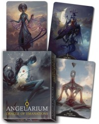 Angelarium: Oracle Card Deck of Emanations Mystic Convergence Metaphysical Supplies Metaphysical Supplies, Pagan Jewelry, Witchcraft Supply, New Age Spiritual Store