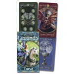Anne Stokes Legends Tarot Cards Deck at Mystic Convergence Metaphysical Supplies, Metaphysical Supplies, Pagan Jewelry, Witchcraft Supply, New Age Spiritual Store