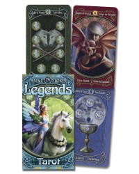 Anne Stokes Legends Tarot Cards Deck Mystic Convergence Metaphysical Supplies Metaphysical Supplies, Pagan Jewelry, Witchcraft Supply, New Age Spiritual Store