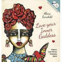 Love Your Inner Goddess Book and CD Set