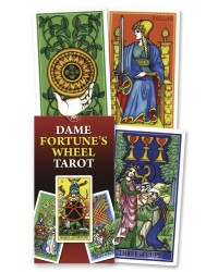 Dame Fortune's Wheel Tarot Card Deck Mystic Convergence Metaphysical Supplies Metaphysical Supplies, Pagan Jewelry, Witchcraft Supply, New Age Spiritual Store