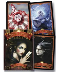 Divine Circus Oracle Cards Mystic Convergence Metaphysical Supplies Metaphysical Supplies, Pagan Jewelry, Witchcraft Supply, New Age Spiritual Store