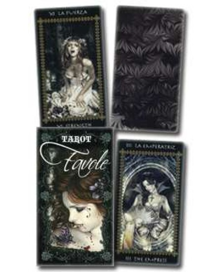 Favole Gothic Tarot Card Deck at Mystic Convergence Metaphysical Supplies, Metaphysical Supplies, Pagan Jewelry, Witchcraft Supply, New Age Spiritual Store
