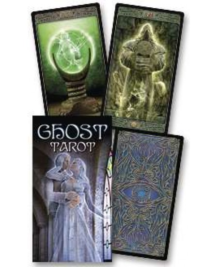Ghost Gothic Tarot Card Deck at Mystic Convergence Metaphysical Supplies, Metaphysical Supplies, Pagan Jewelry, Witchcraft Supply, New Age Spiritual Store