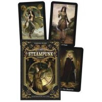 Steampunk Tarot Cards and Book Boxed Set