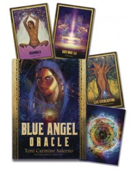 Blue Angel Oracle Cards Mystic Convergence Metaphysical Supplies Metaphysical Supplies, Pagan Jewelry, Witchcraft Supply, New Age Spiritual Store
