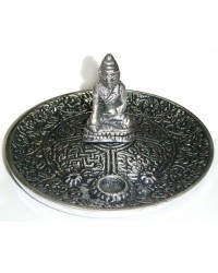 Buddha Metal Incense Burner Mystic Convergence Metaphysical Supplies Metaphysical Supplies, Pagan Jewelry, Witchcraft Supply, New Age Spiritual Store
