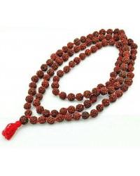 Rudraksha 16 MM Prayer Bead Mala Mystic Convergence Metaphysical Supplies Metaphysical Supplies, Pagan Jewelry, Witchcraft Supply, New Age Spiritual Store