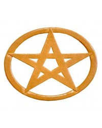 Pentacle Oval Wood Wall Plaque Mystic Convergence Metaphysical Supplies Metaphysical Supplies, Pagan Jewelry, Witchcraft Supply, New Age Spiritual Store