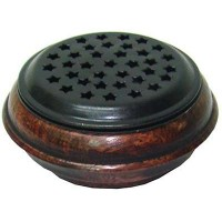 Wood and Metal Incense Censer