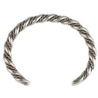 Viking Twisted Rope Cuff Bracelet