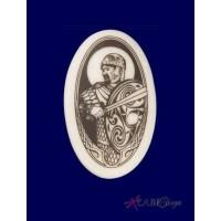 The Knight Arthurian Legends Porcelain Necklace