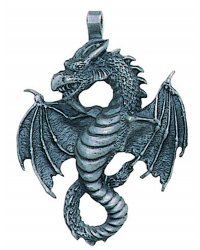 Air Dragon Pewter Necklace Mystic Convergence Metaphysical Supplies Metaphysical Supplies, Pagan Jewelry, Witchcraft Supply, New Age Spiritual Store