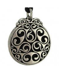 Triscele of Dana Spiral of Eternal Life Pewter Necklace Mystic Convergence Metaphysical Supplies Metaphysical Supplies, Pagan Jewelry, Witchcraft Supply, New Age Spiritual Store