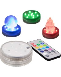 LED Waterproof Light Base with Remote Mystic Convergence Metaphysical Supplies Metaphysical Supplies, Pagan Jewelry, Witchcraft Supply, New Age Spiritual Store