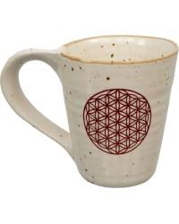 Flower of Life 10 oz Ceramic Mug Mystic Convergence Metaphysical Supplies Metaphysical Supplies, Pagan Jewelry, Witchcraft Supply, New Age Spiritual Store
