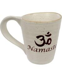 Namaste Om 10 oz Ceramic Mug Mystic Convergence Metaphysical Supplies Metaphysical Supplies, Pagan Jewelry, Witchcraft Supply, New Age Spiritual Store