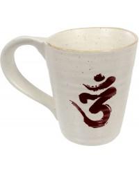 Om Symbol 10 oz Ceramic Mug Mystic Convergence Metaphysical Supplies Metaphysical Supplies, Pagan Jewelry, Witchcraft Supply, New Age Spiritual Store