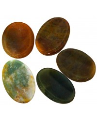 Jasper Worry Stone Mystic Convergence Metaphysical Supplies Metaphysical Supplies, Pagan Jewelry, Witchcraft Supply, New Age Spiritual Store