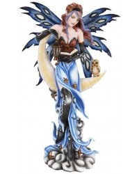 Crescent Moon Fairy Statue Mystic Convergence Metaphysical Supplies Metaphysical Supplies, Pagan Jewelry, Witchcraft Supply, New Age Spiritual Store