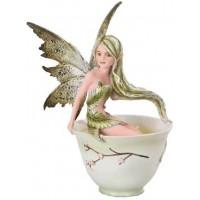 Green Tea Fairy Statue