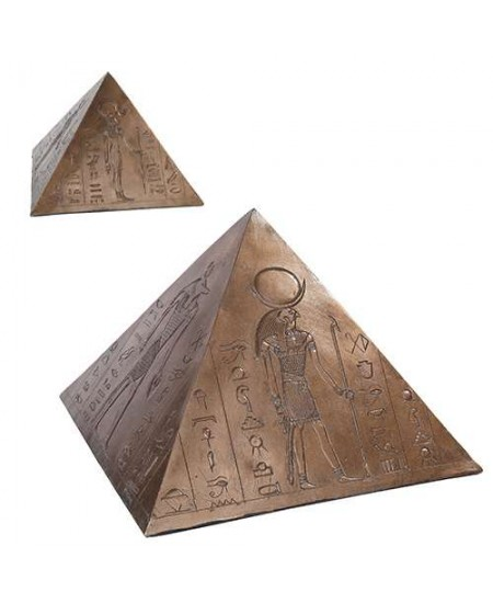 Egyptian Pyramid Memorial Keepsake Urn at Mystic Convergence Metaphysical Supplies, Metaphysical Supplies, Pagan Jewelry, Witchcraft Supply, New Age Spiritual Store