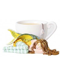 Chamomile Tea Fairy Statue Mystic Convergence Metaphysical Supplies Metaphysical Supplies, Pagan Jewelry, Witchcraft Supply, New Age Spiritual Store