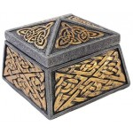 Celtic Knot Lidded Trinket Box at Mystic Convergence Metaphysical Supplies, Metaphysical Supplies, Pagan Jewelry, Witchcraft Supply, New Age Spiritual Store