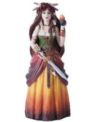 Brigid Goddess Statue Mystic Convergence Metaphysical Supplies Metaphysical Supplies, Pagan Jewelry, Witchcraft Supply, New Age Spiritual Store
