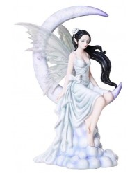 Frost Moon Fairy Statue Mystic Convergence Metaphysical Supplies Metaphysical Supplies, Pagan Jewelry, Witchcraft Supply, New Age Spiritual Store