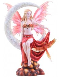 Fire Moon Fairy Statue Mystic Convergence Metaphysical Supplies Metaphysical Supplies, Pagan Jewelry, Witchcraft Supply, New Age Spiritual Store