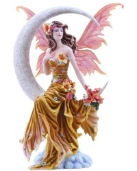 Earth Moon Fairy by Nene Thomas Statue Mystic Convergence Metaphysical Supplies Metaphysical Supplies, Pagan Jewelry, Witchcraft Supply, New Age Spiritual Store