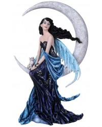 Indigo Moon Fairy Statue Mystic Convergence Metaphysical Supplies Metaphysical Supplies, Pagan Jewelry, Witchcraft Supply, New Age Spiritual Store