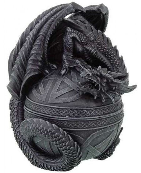 Celtic Dragon Round Trinket Box at Mystic Convergence Metaphysical Supplies, Metaphysical Supplies, Pagan Jewelry, Witchcraft Supply, New Age Spiritual Store