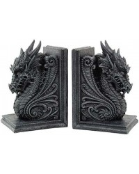 Dragon Head Ornate Bookends Mystic Convergence Metaphysical Supplies Metaphysical Supplies, Pagan Jewelry, Witchcraft Supply, New Age Spiritual Store