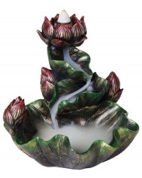 Lotus Flower Backflow Incense Burner Mystic Convergence Metaphysical Supplies Metaphysical Supplies, Pagan Jewelry, Witchcraft Supply, New Age Spiritual Store
