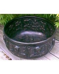 Gundustrup 12 Inch Resin Cauldron Mystic Convergence Metaphysical Supplies Metaphysical Supplies, Pagan Jewelry, Witchcraft Supply, New Age Spiritual Store