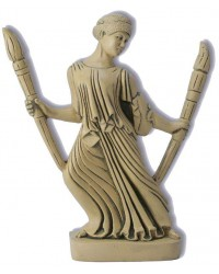 Hecate with Torches Greek Goddess Statue Mystic Convergence Metaphysical Supplies Metaphysical Supplies, Pagan Jewelry, Witchcraft Supply, New Age Spiritual Store