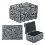 Dragon Celtic Jewelry Box at Mystic Convergence Metaphysical Supplies, Metaphysical Supplies, Pagan Jewelry, Witchcraft Supply, New Age Spiritual Store