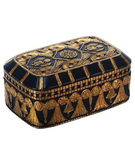 Scarab and Lotus Egyptian Revival Trinket Box at Mystic Convergence Metaphysical Supplies, Metaphysical Supplies, Pagan Jewelry, Witchcraft Supply, New Age Spiritual Store
