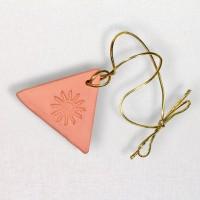 Triangular Small Clay Oil Diffuser