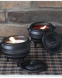 Cauldron Candle - Apple Cinnamon Mystic Convergence Metaphysical Supplies Metaphysical Supplies, Pagan Jewelry, Witchcraft Supply, New Age Spiritual Store