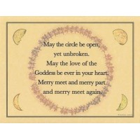 Cards, Posters & Accessories Mystic Convergence Wicca Supplies, Pagan Jewelry, Witchcraft Supply, New Age Magick