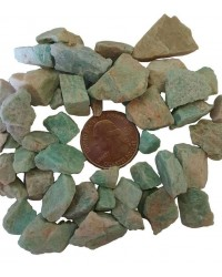 Amazonite Raw Untumbled Stones - 1 Pound Pack Mystic Convergence Metaphysical Supplies Metaphysical Supplies, Pagan Jewelry, Witchcraft Supply, New Age Spiritual Store