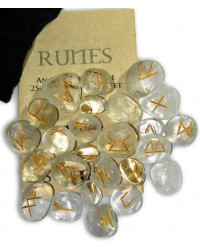 Crystal Quartz Gemstone Runes Mystic Convergence Metaphysical Supplies Metaphysical Supplies, Pagan Jewelry, Witchcraft Supply, New Age Spiritual Store