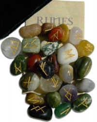 Multi-Stone Agate Gemstone Rune Set Mystic Convergence Metaphysical Supplies Metaphysical Supplies, Pagan Jewelry, Witchcraft Supply, New Age Spiritual Store