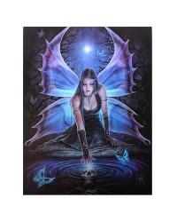 Immortal Flight Canvas Art Print Mystic Convergence Metaphysical Supplies Metaphysical Supplies, Pagan Jewelry, Witchcraft Supply, New Age Spiritual Store