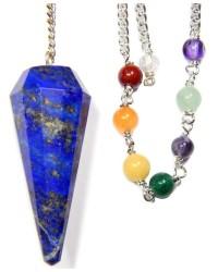Lapis Lazuli Chakra Scrying Pendulum Mystic Convergence Metaphysical Supplies Metaphysical Supplies, Pagan Jewelry, Witchcraft Supply, New Age Spiritual Store