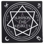 Summon the Spirits Ceramic Coaster at Mystic Convergence Magical Supplies, Wiccan Supplies, Pagan Jewelry, Witchcraft Supplies, New Age Store